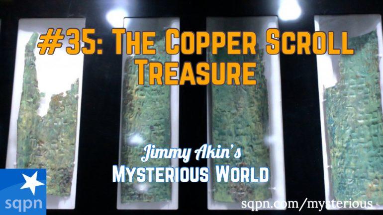 MYS035: The Dead Sea Scrolls Treasure Map (The Copper Scroll)