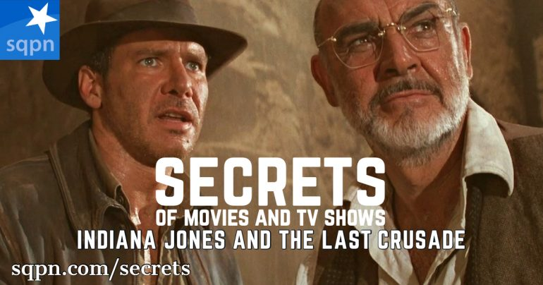 SCR037: The Secrets of Indiana Jones and the Last Crusade