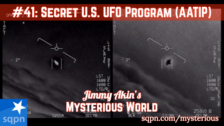 The Secret Government UFO Program (AATIP)