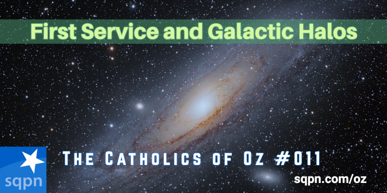 First Service and Galactic Halos