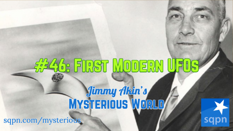 Kenneth Arnold and the First UFOs