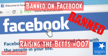 Banned on Facebook