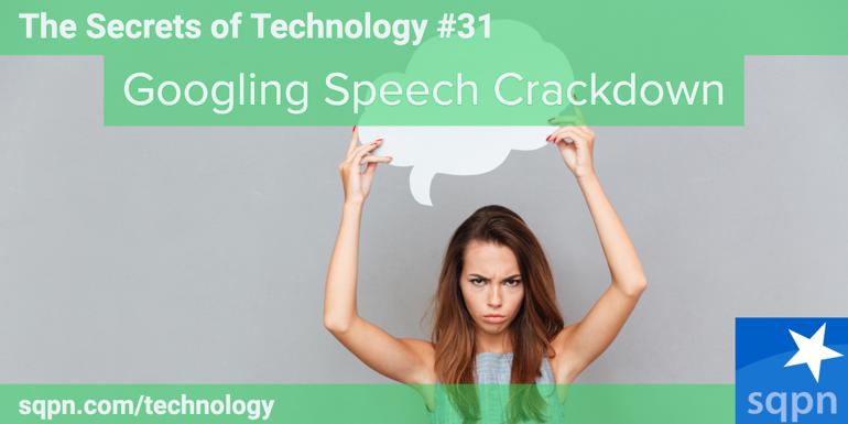 Googling Speech Crackdown