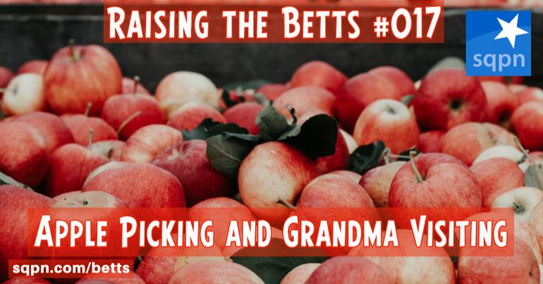 Apple Picking and Grandma Visiting