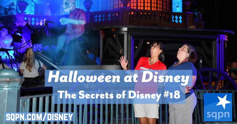 Not-So-Scary Halloween at Disney