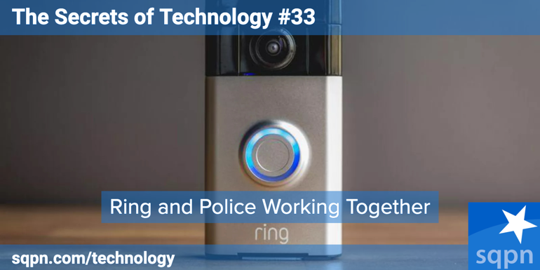Ring And Police Working Together