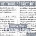 The Third Secret of Fatima