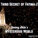 The Third Secret of Fatima Theories