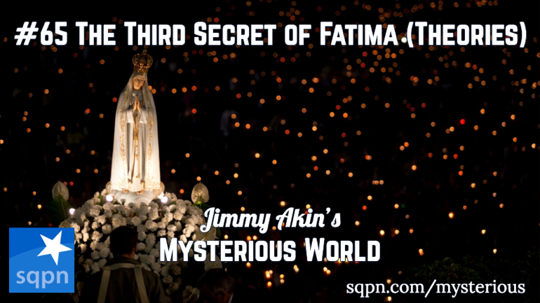 The Third Secret of Fatima Theories