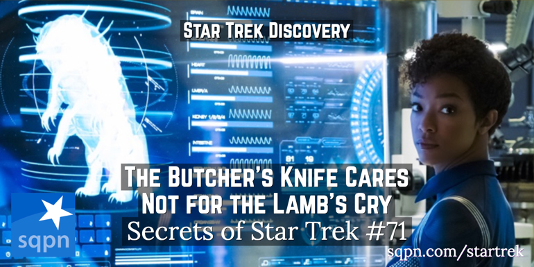 The Butcher's Knife Cares Not for the Lamb's Cry (DIS)