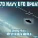 AATIP UFO Update