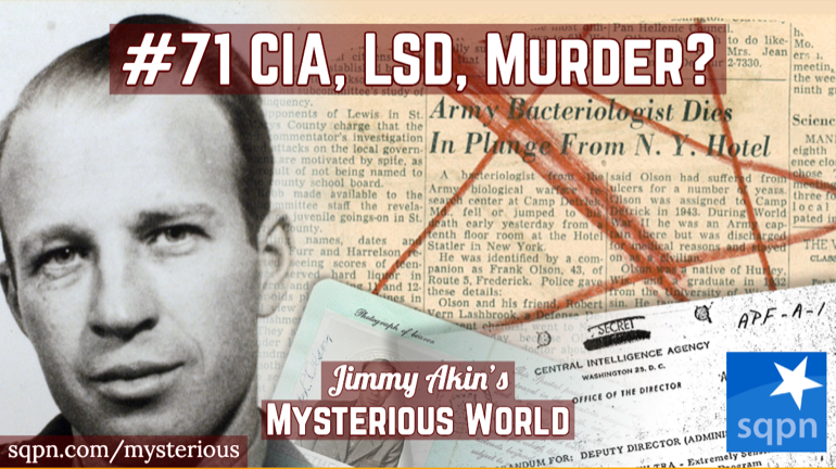The Mysterious Death of Frank Olson (CIA Scientist)