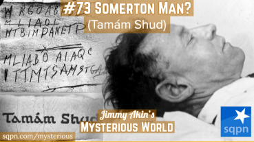 The Mysterious Death of Somerton Man (Tamam Shud)