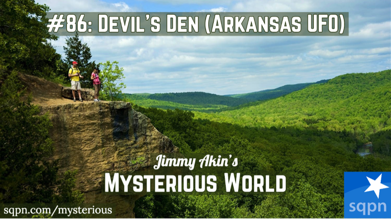 Devil's Den Arkansas UFO Encounter