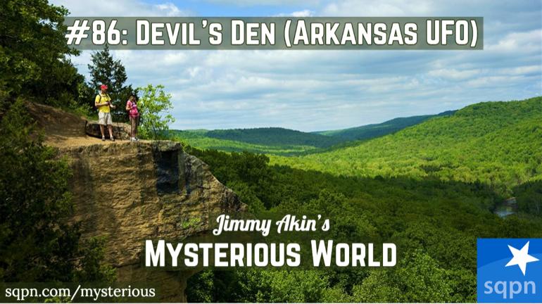 Devil's Den Arkansas UFO Encounter