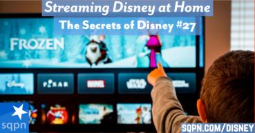 Streaming Disney at Home