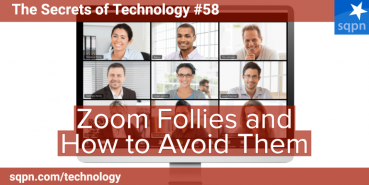 Zoom Follies and How to Avoid Them