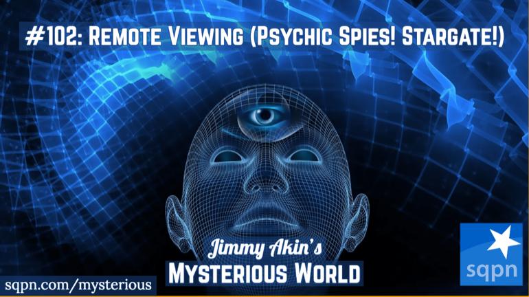 Remote Viewing (Psychic Spies! Stargate Program!)