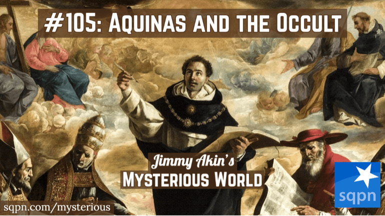 St. Thomas Aquinas and the Occult