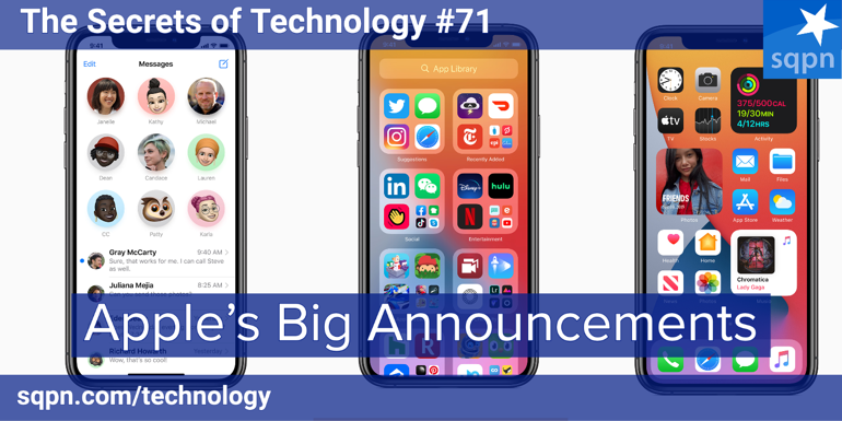 Apple's Big Announcements