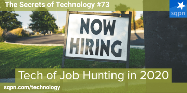Tech of Job Hunting in 2020