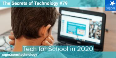 Tech for School in 2020