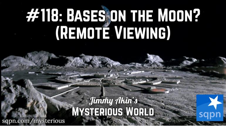 Alien Moon Bases & Remote Viewing (Ingo Swann's Penetration)