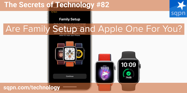 Are Family Setup and Apple One For You?