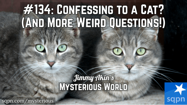 Confessing to a Cat? Satanic Panic? Bodily Mortification? Baptismal Tea? & More Weird Questions
