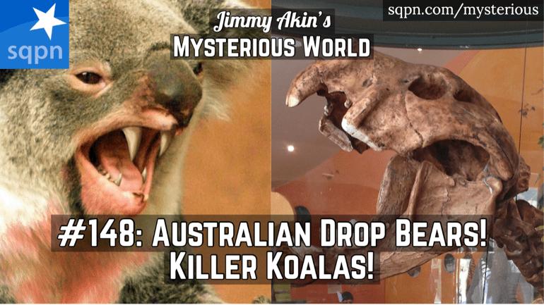 The Fearsome Australian Drop Bear! (Killer Koalas?)