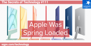 Apple Was Spring Loaded