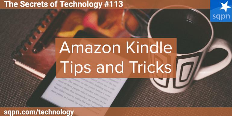 Amazon Kindle Tips and Tricks