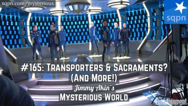 Transporters & Sacraments? Frozen Embryo Guardian Angels? Human-Animal Hybrids? & More Weird Questions!