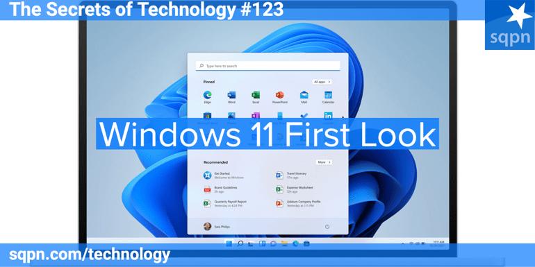 Windows 11 First Look