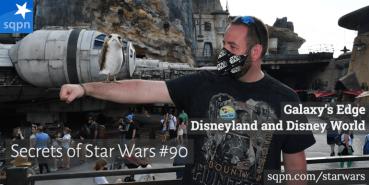 Galaxy's Edge in Disneyland and Disney World