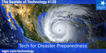 Tech for Disaster Preparedness
