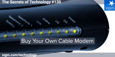 Buy Your Own Cable Modem
