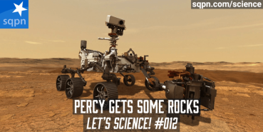 Percy Gets Some Rocks